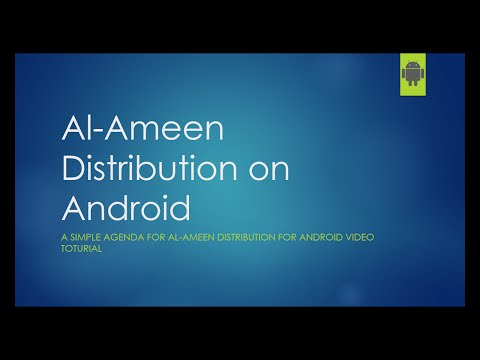 Al Ameen Distribution on Android-01