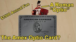 "New Amex Card Called ""Optio""? $1500 per year, Delta Gold etc..."
