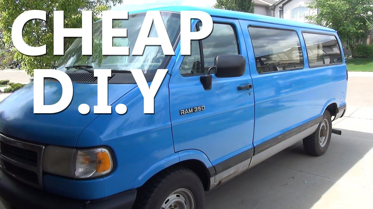diy cheap van paint job youtube