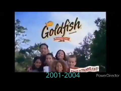 Goldfish (The Snack That Smiles Back) End Tags Logo History (2001-2020)