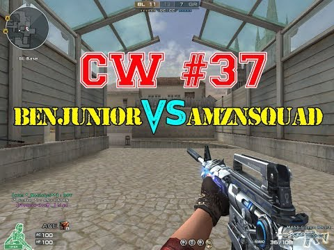 BenJunior vs AMZNSquad Crossfire PH Clan War Black Widow Gameplay #37