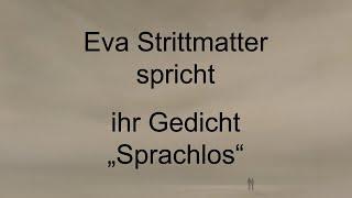 """Eva Strittmatter – """"Sprachlos"""""""