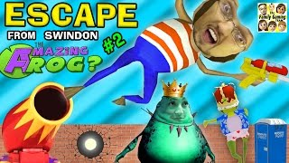 I ESCAPE w/ My New WEAPON!!!  The Amazing Frog that Farts Part 2 w/ FGTEEV Duddy