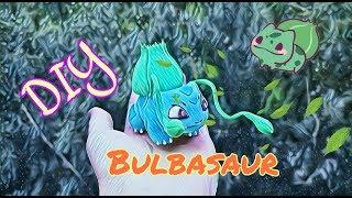 DiY Sculpting Pokemon  Bulbasaur Clay art