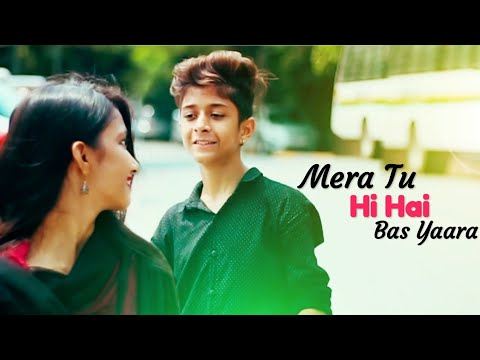 Mera Tu Hi Hai Bas Yaara | Cute School Love Story | Rahul&Amrita | Sakhiyaan | Kade Manu Film Dikha
