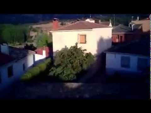 Primera toma aérea de Arcos de la Sierra