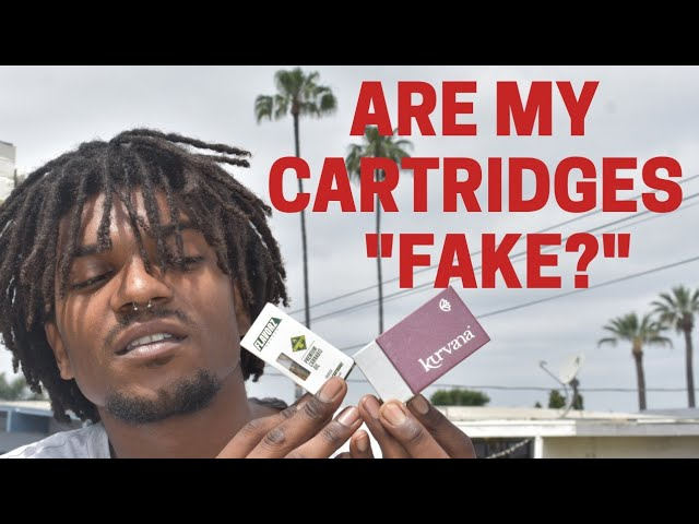 Top 5 Ways To Spot Fake Cartridges Stiiizy Kurvana Raw Garden Youtube