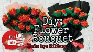 DIY Flower Bouquet | Siṁple way of making bouquet |Surprising Special Friend @Remejoy Garcia