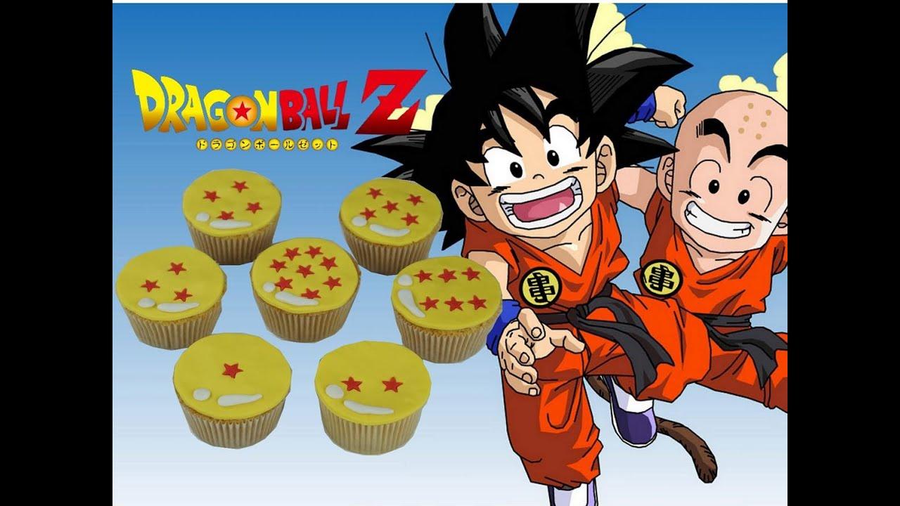 Dragon Ball Z cupcakes DBZ Cake design YouTube
