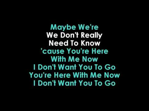 Perfect Strangers Karaoke Jonas Blue feat JP Cooper