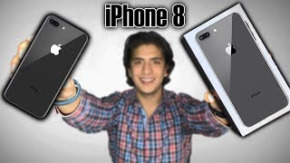 Unboxing del iPHONE 8 Plus - El mejor!