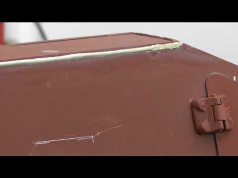 1/6 scale Modelling Weld Lines Tutorial