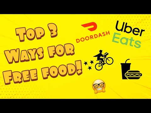 Top 3 Ways To Get Free Food In 2020! (DoorDash / Postmates / UberEats)