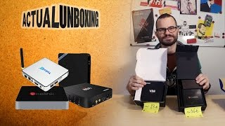 Android TV boxes - Actual Unboxing #9
