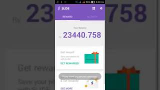 How to get unlimited balance in slide app .How to hack slide app with proof