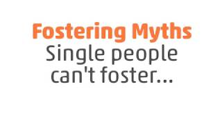 Fostering myths - single people can't foster... thumbnail