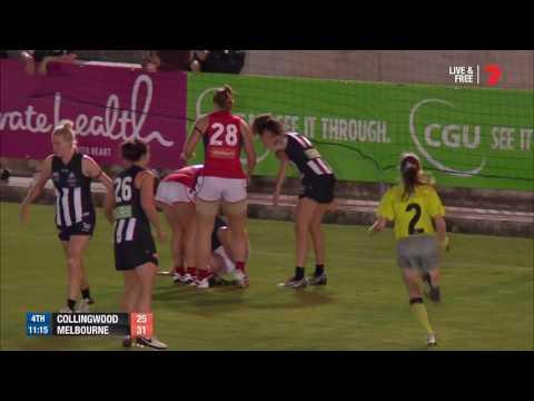 AFLW Highlights: Magpies v Demons