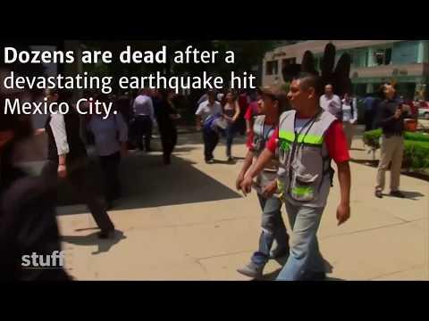Mexico City earthquake leaves dozens dead