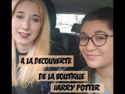 A LA DÉCOUVERTE DE LA BOUTIQUE HARRY POTTER A VERSAILLES - Vlog