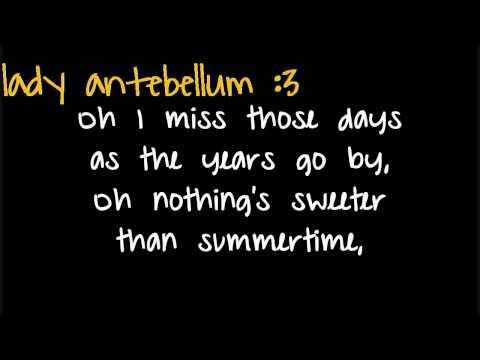 American Honey - Lady Antebellum - Lyrics♥
