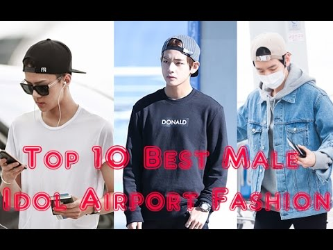 [TOP 10] Top 10 Male Kpop Idols With the Best Airport Fashion