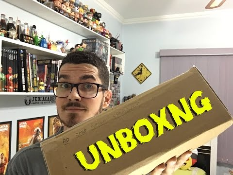 Unboxing Treasure Box