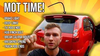 Getting the Fiesta ST MOT Ready