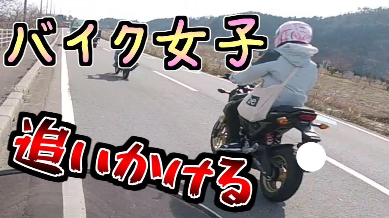 【モトブログ】バイク女子を追いかけまわす