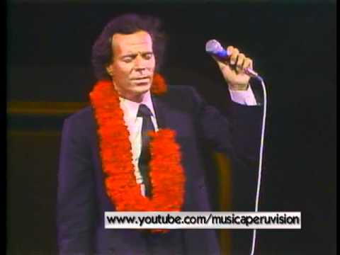 JULIO IGLESIAS-CASA BLANCA ( AS TIME GOES BY )  LIVE IN JAPAN-1983