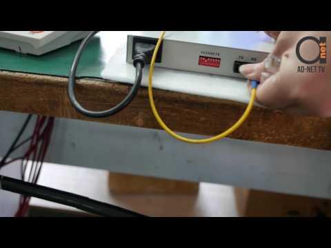 RS-232 / RS-422 / RS-485 over Fiber Converter - Extender testing scenario