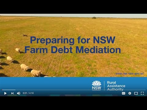 Preparing for NSW Farm Debt Mediation