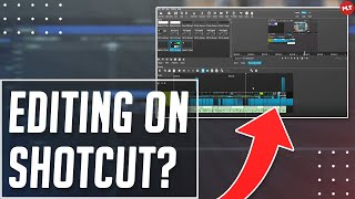 How To Edit A VIDEO With Shotcut Video Editor Tutorial!