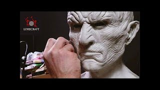 Sculpting The Night King - Timelapse Sculpt and Airbrush- GoT