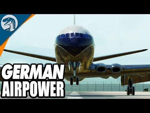 WEST GERMAN AIR POWER | Transport Fever European Campaign Mission Gameplay