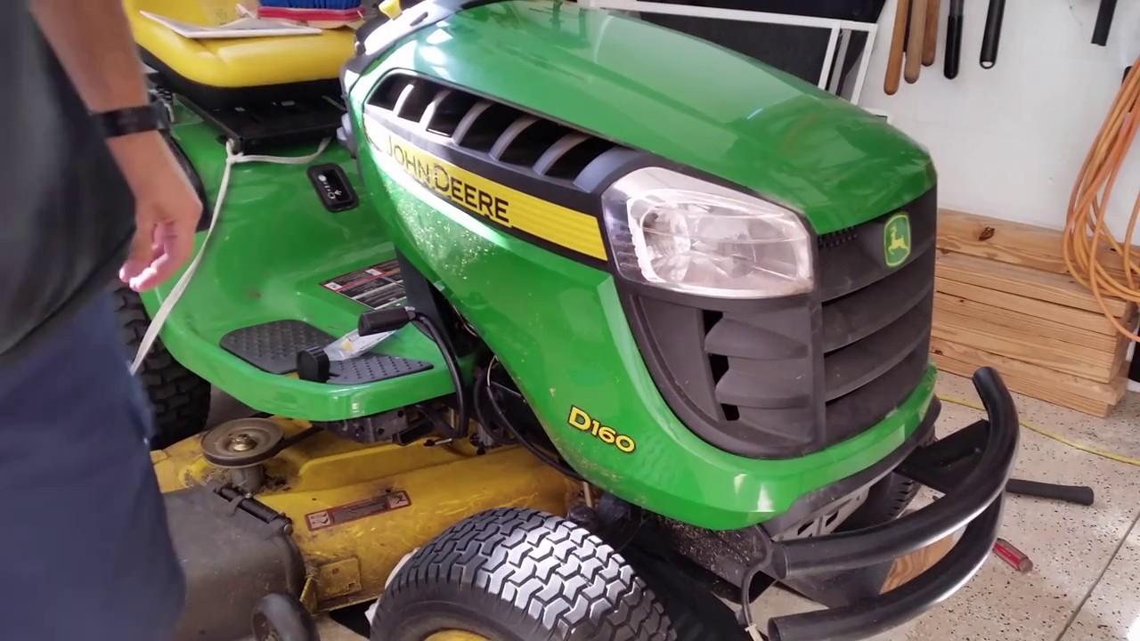 John Deere B Hood : John deere hood hinge repair d series tractor youtube