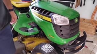 John Deere Hood Hinge Repair D160 D-Series tractor