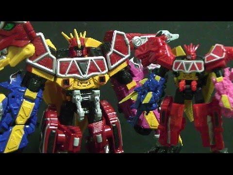 Power Rangers Dino Charge Mini Megazord Toys 파워레인저 다이노포스 장난감