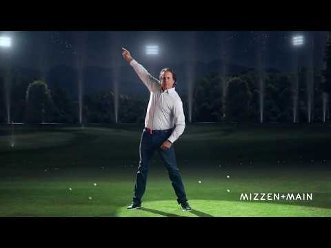 Phil Mickelson Doing The Worm!