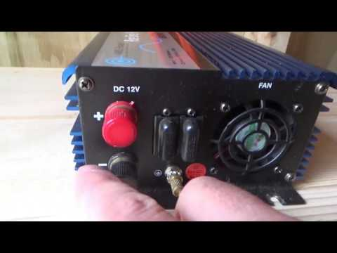 How To Connect Power Inverter ~ Setting Up Off Grid Solar