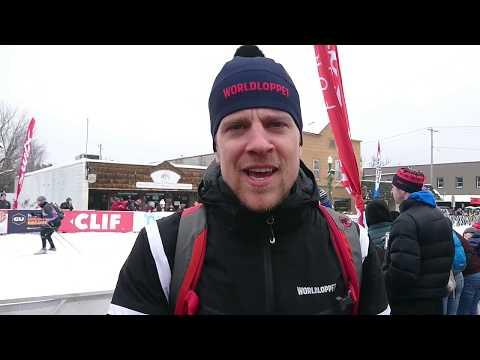 Worldloppet Race Reporter Philipp Doing The American Birkebeiner 2019