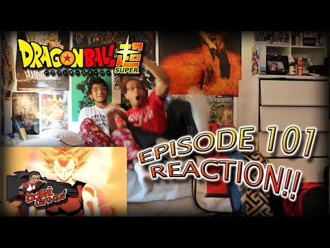 Dragon Ball Super Ep. 101 REACTION + Predictions!! |