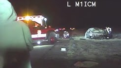 Video: Drunk driver at scene of deadly crash