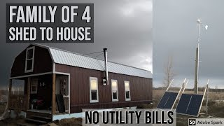 16x52 Off-Grid Shed To House Tour 2019 Update & Cost Breakdown