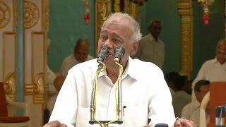 Выступление Шринивасана, члена Центрального Траста Шри Сатья Саи  19 июля 2016
