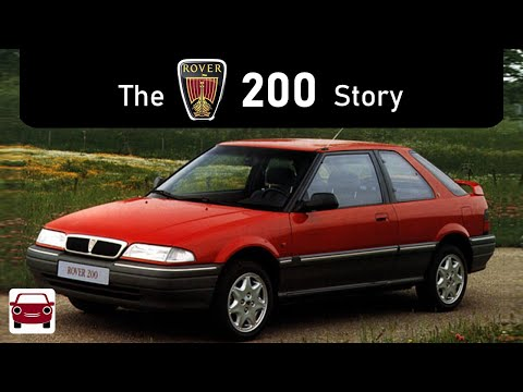 The Rover 200 Story