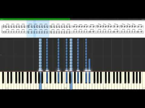 Kings Of Leon - Sex on fire [Piano Tutorial] Synthesia