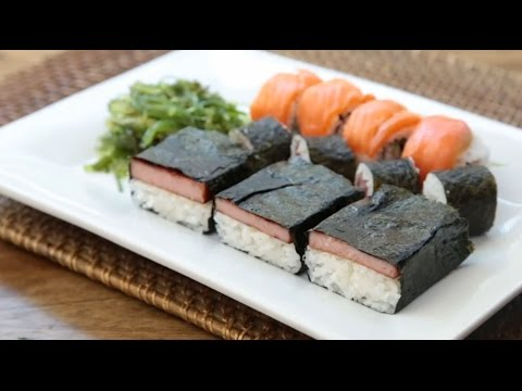 Spam Recipes - How to Make Spam Musubi
