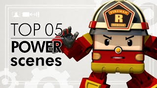 Robocar Poli Top 05 Roy Power Scenes | Robocar Poli Special
