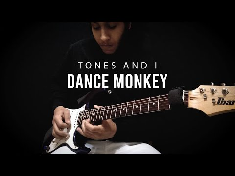 Tones And I - Dance Monkey Electric Guitar Cover By Mohamed Hussien