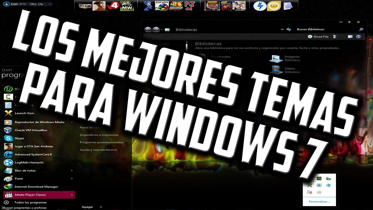 Descargar Los Mejores Temas Para Windows 7 │ …
